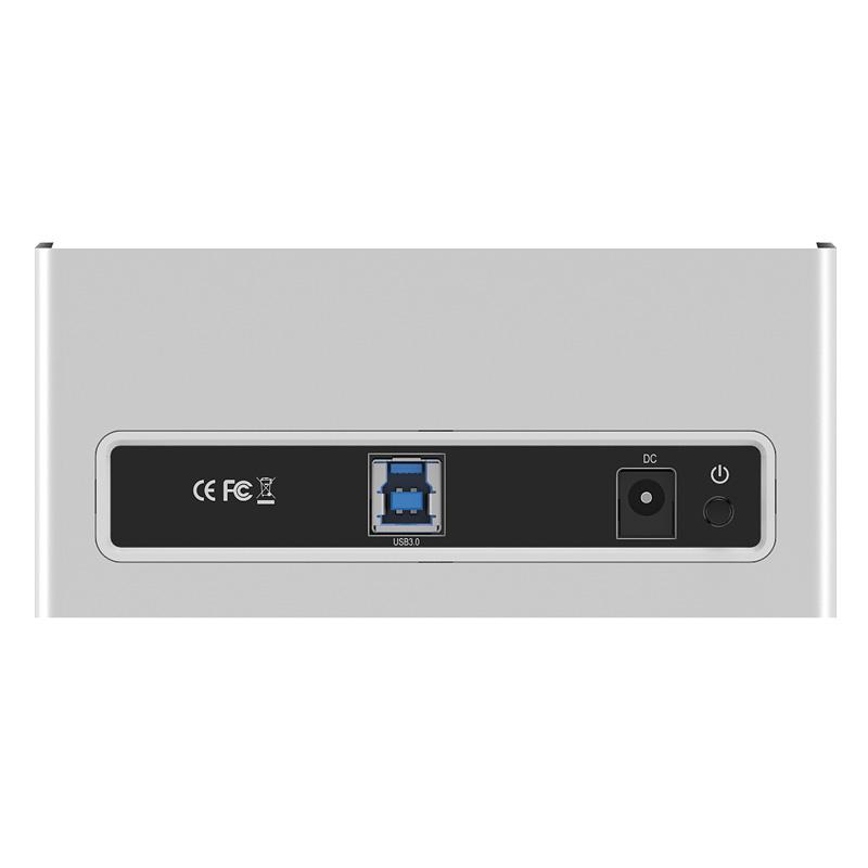 Docking ORICO 6818US3 USB3.0, HDD Sata Vỏ nhôm