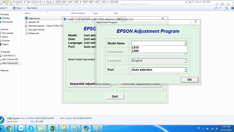 Cara Reset Epson L130