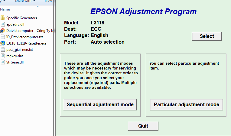 How To Reset Epson L3118