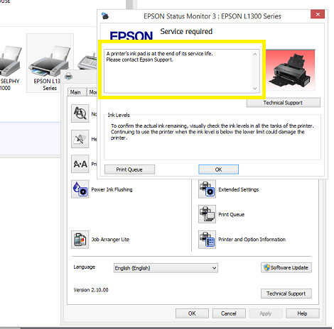 Cara Reset Epson L1300